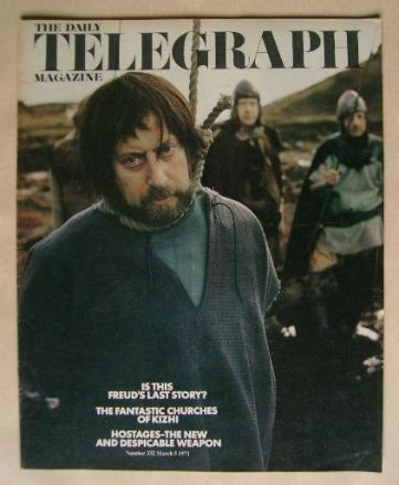 <!--1971-03-05-->The Daily Telegraph magazine - Clement Freud cover (5 Marc
