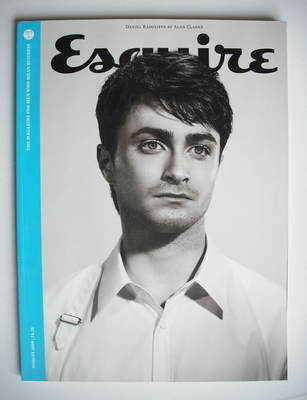 <!--2009-08-->Esquire magazine - Daniel Radcliffe cover (August 2009 - Subs