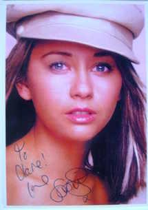 Samia Smith autograph