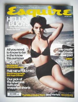 Esquire magazine - Monica Bellucci cover (July 2007)