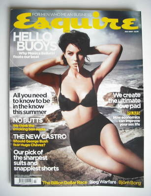 <!--2007-07-->Esquire magazine - Monica Bellucci cover (July 2007)