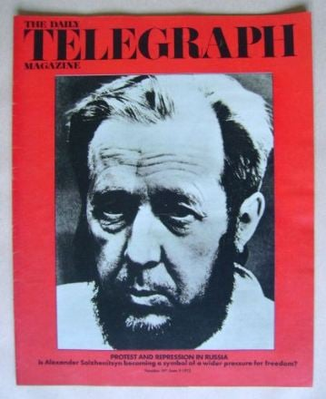 <!--1972-06-09-->The Daily Telegraph magazine - 9 June 1972