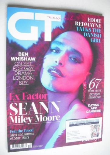 <!--2015-12-->Gay Times magazine - Seann Miley Moore cover (December 2015)