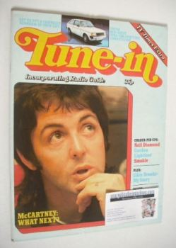 Tune-In magazine - Paul McCartney cover (Spring 1978)
