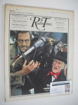 Radio Times magazine - Steptoe and Son cover (31 October - 6 November 1970)