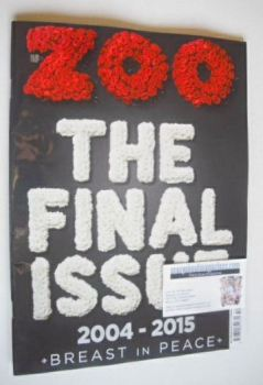 Zoo magazine - The Final Issue (25 December 2015 - 7 January 2016)