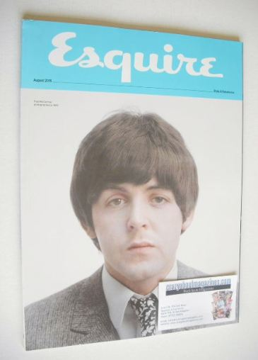 <!--2015-08-->Esquire magazine - Paul McCartney cover (August 2015 - Subscr