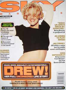 <!--1996-08-->Sky magazine - Drew Barrymore cover (August 1996)