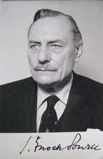Enoch Powell autograph