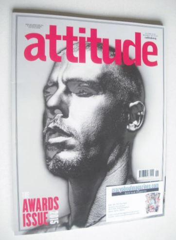 <!--2015-11-->Attitude magazine - Alexander McQueen cover (November 2015)