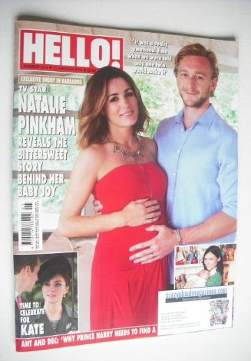 <!--2016-01-11-->Hello! magazine - Natalie Pinkham cover (11 January 2016 -