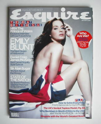 <!--2007-05-->Esquire magazine - Emily Blunt cover (May 2007)