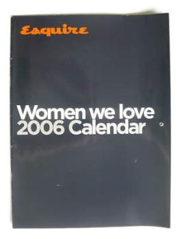 Esquire Calendar 2006 - Women We Love