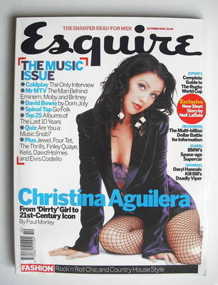 <!--2003-10-->Esquire magazine - Christina Aguilera cover (October 2003)
