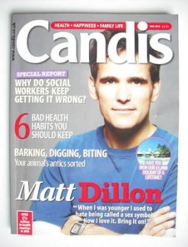 Candis magazine - March 2010 - Matt Dillon cover