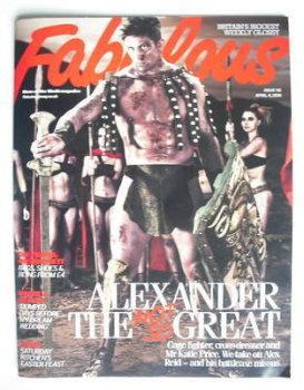 Fabulous magazine - Alex Reid cover (4 April 2010)