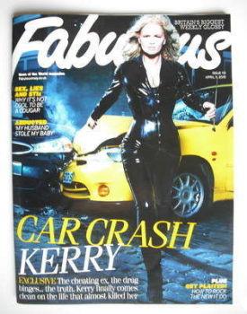 Fabulous magazine - Kerry Katona cover (11 April 2010)