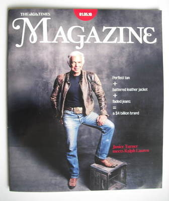 <!--2010-05-01-->The Times magazine - Ralph Lauren cover (1 May 2010)