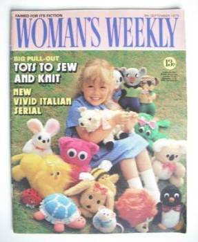<!--1979-09-08-->Woman's Weekly magazine (8 September 1979 - British Edition)