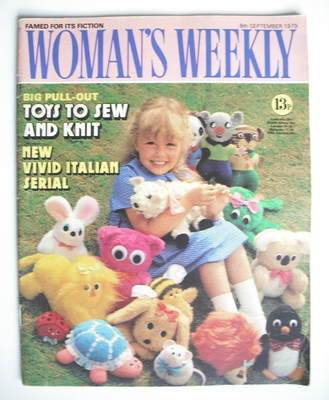 <!--1979-09-08-->Woman's Weekly magazine (8 September 1979 - British Editio
