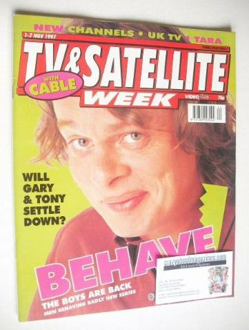 <!--1997-11-01-->TV & Satellite Week magazine - Martin Clunes cover (1-7 No