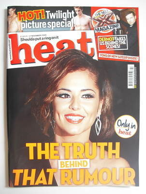<!--2009-11-21-->Heat magazine - Cheryl Cole cover (21-27 November 2009)