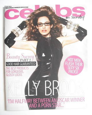 <!--2010-05-02-->Celebs magazine - Kelly Brook cover (2 May 2010)