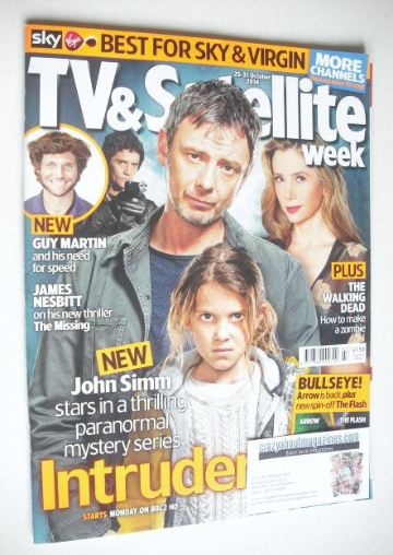 <!--2014-10-25-->TV & Satellite Week magazine - Intruders cover (25-31 Octo