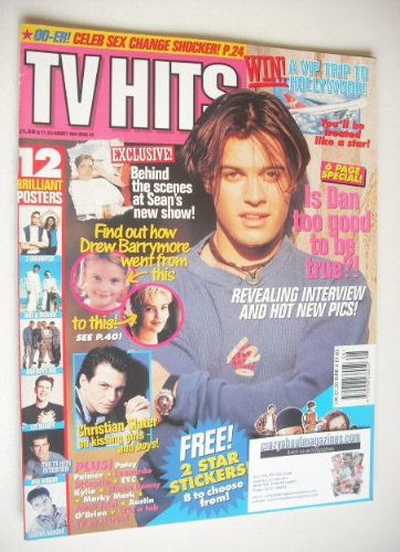 <!--1994-08-->TV Hits magazine - August 1994 - Dan Falzon cover