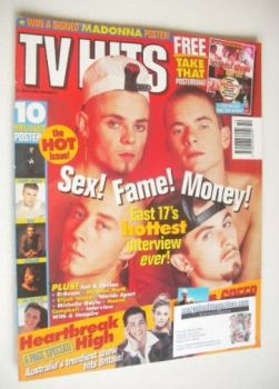 TV Hits magazine - October 1994 - East 17 cover