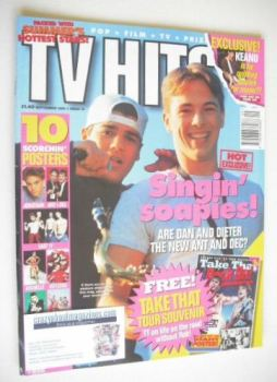 TV Hits magazine - September 1995 - Daniel Amalm and Dieter Brummer cover
