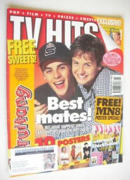 TV Hits magazine - October 1995 - Ant and Dec cover