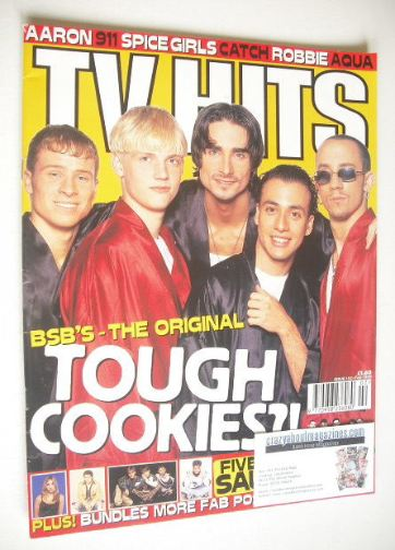 <!--1998-02-->TV Hits magazine - February 1998 - Backstreet Boys cover