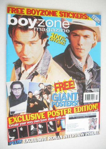 <!--1998-13-->Boyzone magazine (Annual 1998)