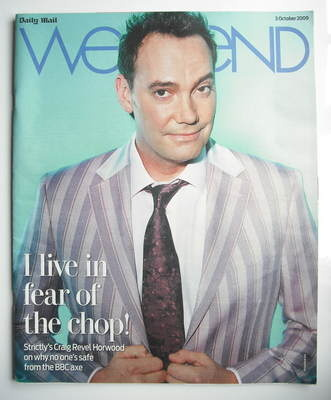 Weekend magazine - Craig Revel Horwood cover (3 October 2009)