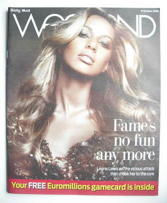 Weekend magazine - Leona Lewis cover (31 October 2009)
