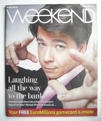 Weekend magazine - Michael McIntyre cover (21 November 2009)