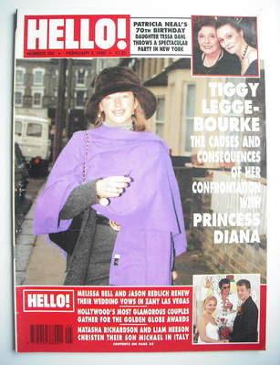 Hello Magazine Tiggy Legge Bourke Cover 3 February