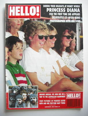 <!--1993-09-04-->Hello! magazine - Princess Diana cover (4 September 1993 -
