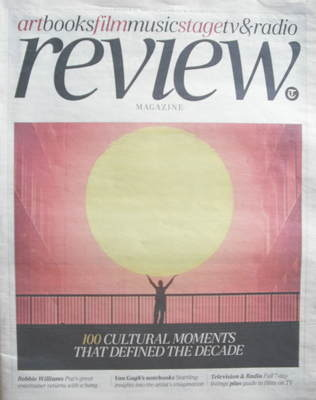 The Daily Telegraph Review newspaper supplement - 31 October 2009 - 100 Cul