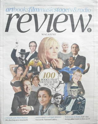 The Daily Telegraph Review newspaper supplement - 14 November 2009 - 100 Bo