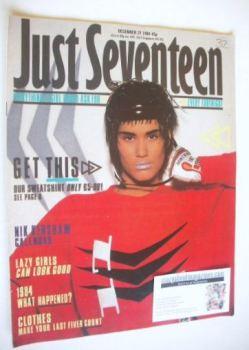 Just Seventeen magazine - 27 December 1984