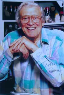 Jimmy Perry autograph