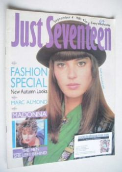 Just Seventeen magazine - 4 September 1985