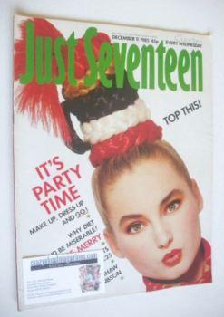 Just Seventeen magazine - 11 December 1985