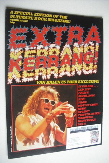 <!--1984-01-->Extra Kerrang magazine (Special Edition - Issue 1)