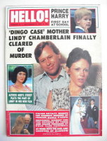 <!--1988-09-24-->Hello! magazine - Lindy Chamberlain cover (24 September 1988 - Issue 19)