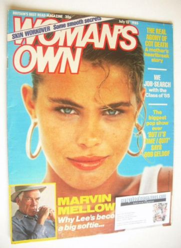 <!--1985-07-13-->Woman's Own magazine - 13 July 1985