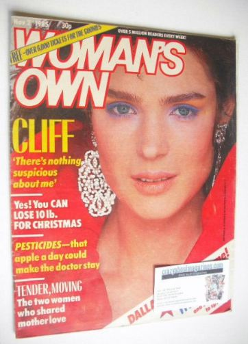<!--1985-11-02-->Woman's Own magazine - 2 November 1985