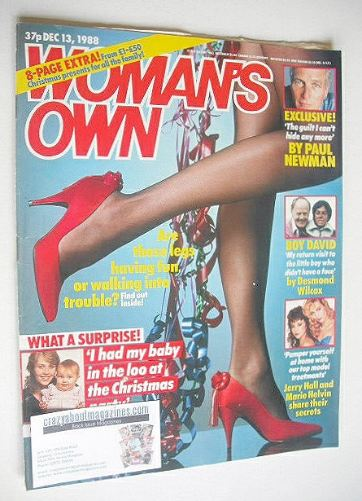 <!--1988-12-13-->Woman's Own magazine - 13 December 1988